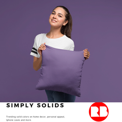 Home Decor, Shower curtains, duvets, bedding, throw pillows and more with trending solid colors