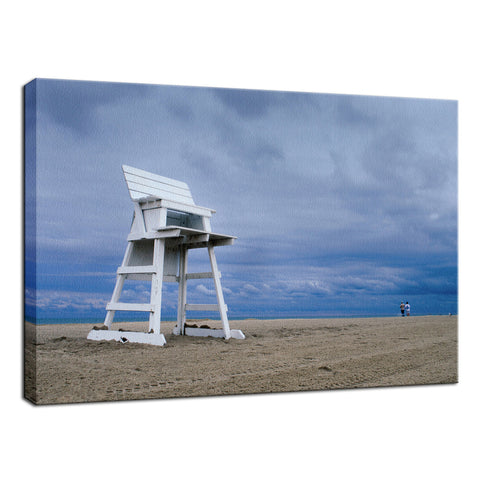 Approaching Storm Coastal Landscape Photo Fine Art Canvas Wall Art Prints