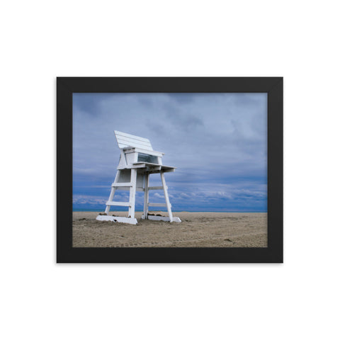 Approaching Storm Coastal Landscape Framed Photo Paper Wall Art Prints