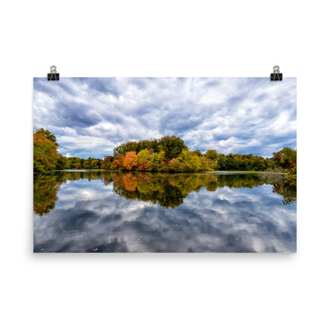 Autumn Reflections Landscape Photo Loose Wall Art Prints