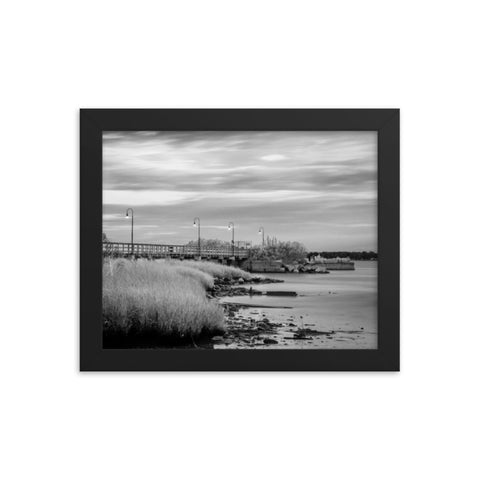 Historic New Castle 2 Coastal Landscape Framed Photo Paper Wall Art Prints