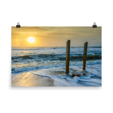 Kissed by the Sea Coastal Landscape Photo Loose Wall Art Prints