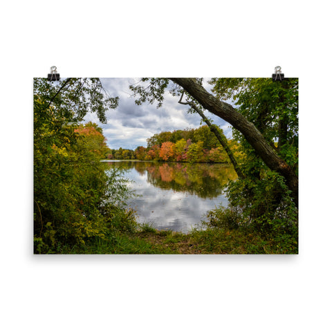 Lost in Autumn Color Landscape Photo Loose Wall Art Prints