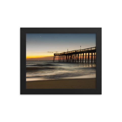 Motion of the Ocean Coastal Landscape Framed Photo Paper Wall Art Prints
