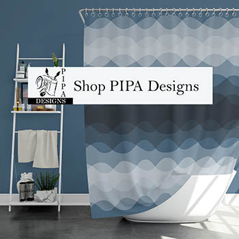 PIPA Designs, Color Matched Home Decor to 8 Leading Paint manufacturers