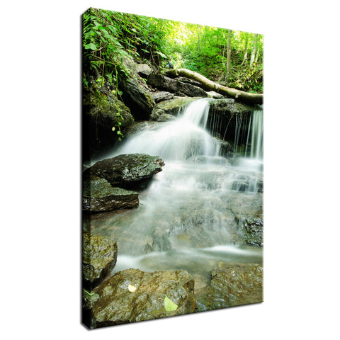 Pixley Waterfall 2 Landscape Photo Fine Art Canvas Wall Art Prints