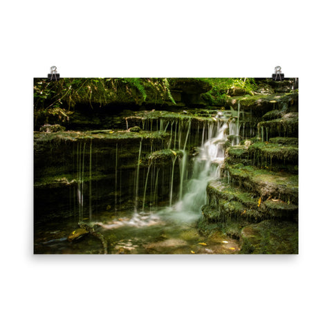 Pixley Falls 1 Waterfalls Landscape Photo Loose Wall Art Prints