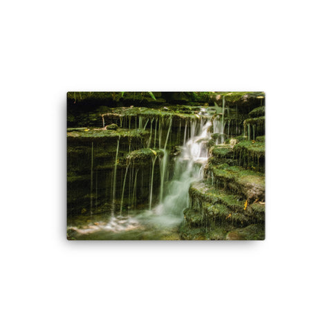 Pixley Waterfalls 1 Rural Landscape Canvas Wall Art Prints