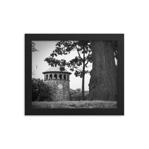 Rockford Tower in Black and White Framed Photo Paper Wall Art Prints