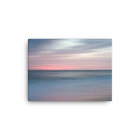 The Colors of Evening on the Beach Coastal Landscape Canvas Wall Art Prints