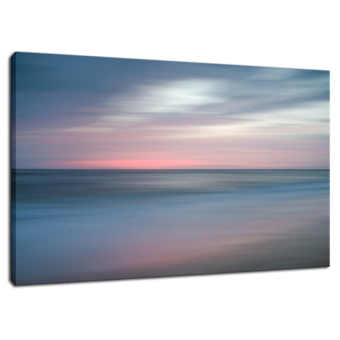 The Colors of Evening Abstract Coastal Landscape Fine Art Canvas Wall Art Prints