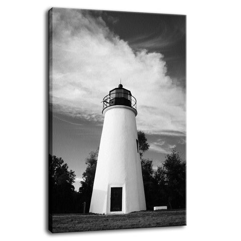 Touch the Sky Black & White Landscape Fine Art Canvas Wall Art Prints