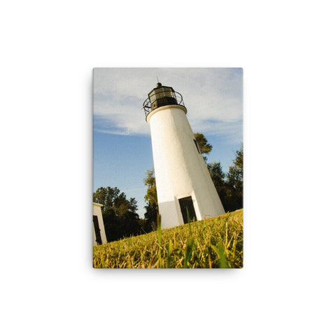 Turkey Point Lighthouse Coastal Landscape Canvas Wall Art Prints