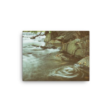 Water Swirl Rural Landscape Canvas Wall Art Prints