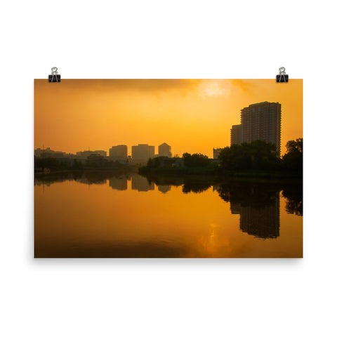 Wilmington at Sunrise Landscape Photo Loose Wall Art Prints