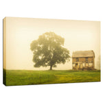 Abandoned House Rural Landscape Fine Art Canvas & Unframed Wall Art Prints