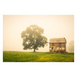 Abandoned House Rural Landscape Photo Fine Art Canvas Wall Art Prints  - PIPAFINEART