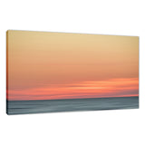 Abstract Color Blend Ocean Sunset Coastal Landscape Fine Art Canvas Prints  - PIPAFINEART