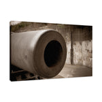 Aged Cannon at Fort DeSoto Fine Art Canvas & Unframed Wall Art Prints - PIPAFINEART