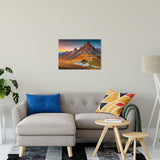 "Majestic Sunset & Alpine Mountain Pass Landscape Fine Art Canvas Wall Art Prints 20"" x 30"" / Canvas Fine Art - PIPAFINEART"