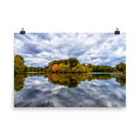 Autumn Reflections Rural / Farmhouse / Country Style Landscape Scene Photo Loose (Unframed) Wall Art Prints