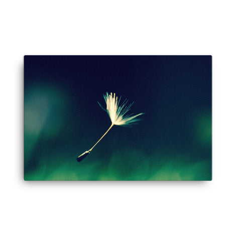 Blowing in the Wind Botanical Nature Canvas Wall Art Prints