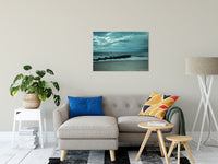 "Blue Morning at Rehoboth Coastal Landscape Photo Fine Art Canvas Wall Art Prints 24"" x 36"" / Canvas Fine Art - PIPAFINEART"