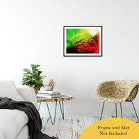 Bubble Art Abstract Photo Fine Art Canvas & Unframed Wall Art Prints - PIPAFINEART