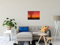 "Burning Skies Rural Landscape Photograph Fine Art Canvas Wall Art Prints 20"" x 30"" / Canvas Fine Art - PIPAFINEART"