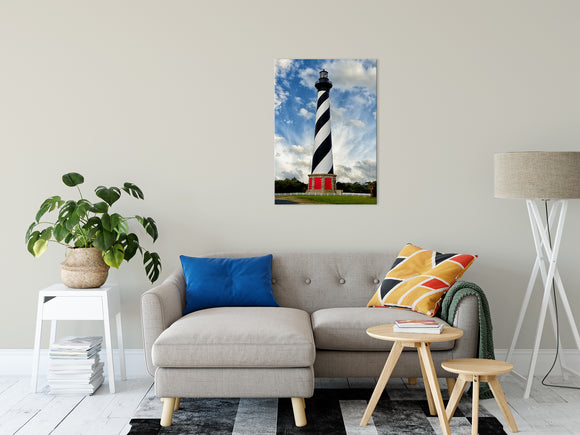 Coastal Wall Decor Cape Hatteras Lighthouse Landscape Photography - Fine Art Canvas Prints - Home Decor Unframed Wall Art Prints