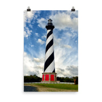 Cape Hatteras Lighthouse Landscape Photo Loose Wall Art Print  - PIPAFINEART