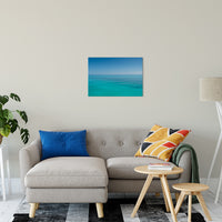 "Colors of The Tropical Sea Abstract Coastal Landscape Fine Art Canvas Prints 20"" x 24"" / Canvas Fine Art - PIPAFINEART"