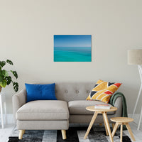 "Colors of The Tropical Sea Abstract Coastal Landscape Fine Art Canvas Prints 20"" x 30"" / Canvas Fine Art - PIPAFINEART"