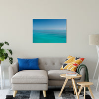 "Colors of The Tropical Sea Abstract Coastal Landscape Fine Art Canvas Prints 24"" x 36"" / Canvas Fine Art - PIPAFINEART"