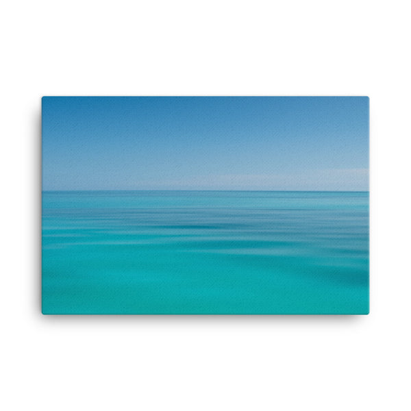 Colors of The Tropical Sea Abstract Landscape Photo Canvas Wall Art Prints  - PIPAFINEART
