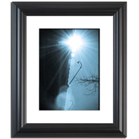 Cresting Sun Abstract Photo Fine Art Canvas & Unframed Wall Art Prints  - PIPAFINEART