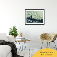 "Daydreams on the Beach Abstract Photo Fine Art Canvas & Unframed Wall Art Prints 24"" x 36"" / Classic Paper - Unframed - PIPAFINEART"