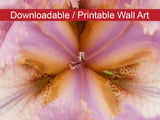 Digital Wall Art, Downloadable Print, Floral Nature Photo Symmetry of Nature Wall Decor Instant -DIY Printable