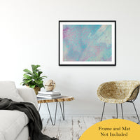 "Acrylic Dirty Paint 23 Abstract Art, Fluid Art Fine Art Canvas &  Unframed Wall Art Prints 30"" x 40"" / Classic Paper - Unframed - PIPAFINEART"
