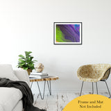 "Acrylic Dirty Paint 29 Abstract Art, Fluid Art Fine Art Canvas &  Unframed Wall Art Prints 20"" x 24"" / Classic Paper - Unframed - PIPAFINEART"