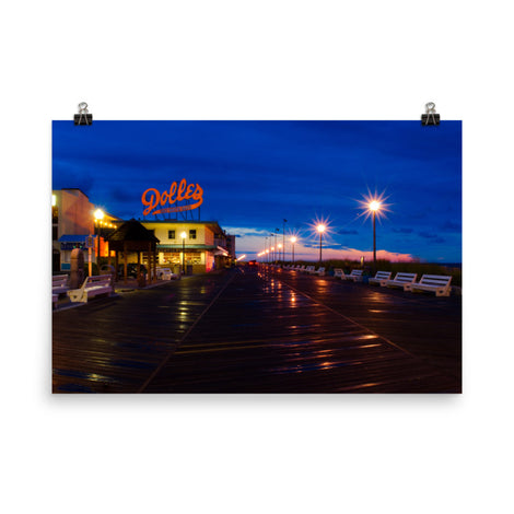 Early Morning At Dolles Urban Landscape Loose Unframed Wall Art Prints