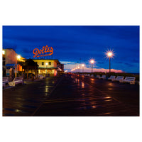 Early Morning at Dolles Night Photo Fine Art Canvas Wall Art Prints - Coastal / Beach / Shore / Seascape Landscape Scene