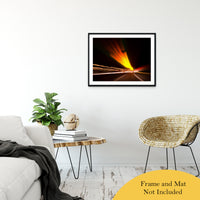 "Expressway Abstract Night Photo Fine Art Canvas & Unframed Wall Art Prints 24"" x 36"" / Classic Paper - Unframed - PIPAFINEART"