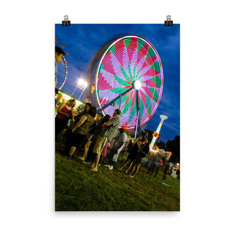 Ferris Wheel 1 Urban Landscape Loose Unframed Wall Art Prints