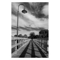 Follow the Lines Rural Landscape Photo Fine Art Canvas Wall Art Prints  - PIPAFINEART