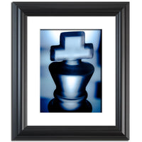 Heads of Kings Blue Abstract Photo Fine Art Canvas & Unframed Wall Art Prints  - PIPAFINEART