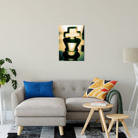 "Heads of Kings (Yellow) Abstract Photo Fine Art Canvas & Unframed Wall Art Prints 20"" x 24"" / Fine Art Canvas - PIPAFINEART"