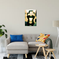 "Heads of Kings (Yellow) Abstract Photo Fine Art Canvas & Unframed Wall Art Prints 20"" x 30"" / Fine Art Canvas - PIPAFINEART"