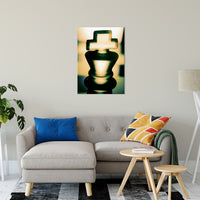 "Heads of Kings (Yellow) Abstract Photo Fine Art Canvas & Unframed Wall Art Prints 24"" x 36"" / Fine Art Canvas - PIPAFINEART"