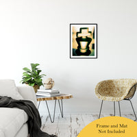 "Heads of Kings (Yellow) Abstract Photo Fine Art Canvas & Unframed Wall Art Prints 20"" x 24"" / Classic Paper - Unframed - PIPAFINEART"